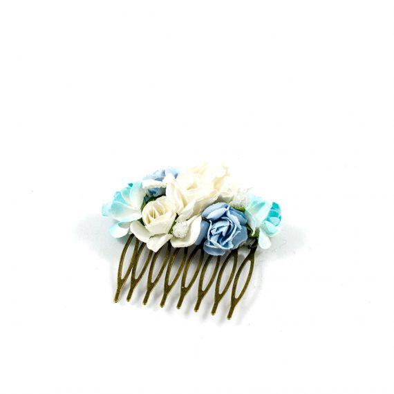 Peineta azul